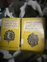 Vintage Book. The Lives Of The English Poets Vol 1 & 2