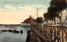 Toronto Canada Hanlans Point Waterfront Antique Postcard K94524