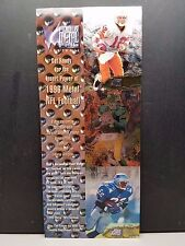 1996 Fleer/Skybox Metal 1996 Football Uncut Promo Sheet