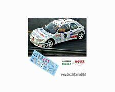 DECALS 1/43 PEUGEOT 306 MAXI CANTAMESSA RALLY MONZA 1997