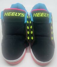 Heelys Propel 2.0 #770512 Multi Color Black Sneakers Skate Shoes Sz 2Youth