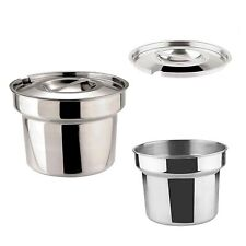 More details for zodiac sunnex round bain marie pot 4 litre pan or lid catering food warmer new