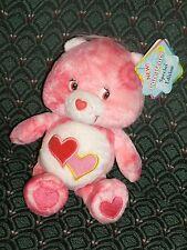 "Care Bear 8"" Series 1 * TIE DYE * LOVE-A-LOT BEAR * NWT *2003* RARE * RETIRED *"