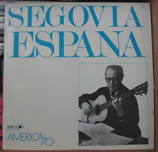 ANDRES SEGOVIA AMERICA70  FRENCH LP MCA RECORDS