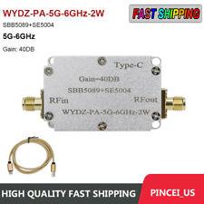 Sbb5089se5004 1 Way Microwave Power Amplifier Rf Power Amp Module 40db 58g 2w