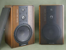 Grundig Fine Arts Paar 3 Wege Lautsprecher Boxen passiv 100/150W Holz Korpus
