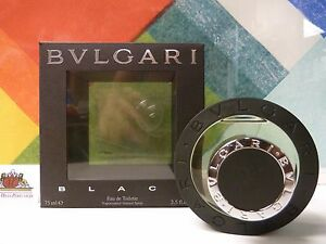 Bvlgari Black 2.5 Oz Eau De Toilette Spray By Bvlgari * New in box *Unisex