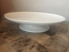 Vintage Footed Cake Stand In Porcelain China Ebay