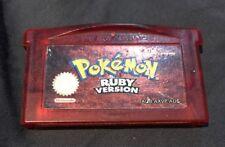Pokemon Ruby Version (Nintendo Game Boy Advance, 2003)