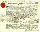 """1727 Colonial American Document>"""" PLEA  OF CASE"""" JABEZ BOSWORTH OF REHOBOTH YEOM"""