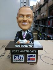 Bob Schieffer Fort Worth Cats Bobblehead Bobble head