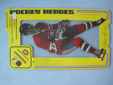 1975 NHLPA UNOPENED HOCKEY HEROES STAND UP JACQUES LEMAIRE FACSIMILE AUTO