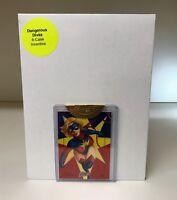 Dangerous Divas 2011 Rhiannon Owens Captain Marvel Sketch Card -6 Case Incentive
