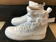 Nike SF AF1 LNY QS Lunar New Year Chinese Men's sz 12 White Gold AO9385 100