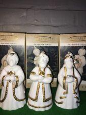 Vintage Hallmark Magi Bells Collection Myrth Gold & Frankincense Bells Set Of 3