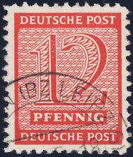 SBZ, MiNr. 119 A Y, sauber gestempelt, Fotoattest Schulz, Mi. 1200,-