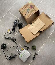 Green Feathers Wireless Bird Box SD 700TVL Camera with Night Vision & Wide Angle