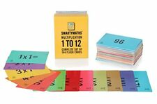 SmartyMaths Times Table Flash Cards Set of 144