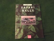 MINT 1993 GMC RALLY SAFARI VAN TRUCK SALES BROCHURE NEW w/Color Chart~#905