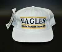 Georgia Southern Eagles Vintage 90s The Game Split Bar Snapback Cap Hat - NWT