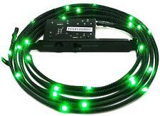 NZXT 1 m Sleeved LED Kit Green + PCI Light Sensitivity  Card