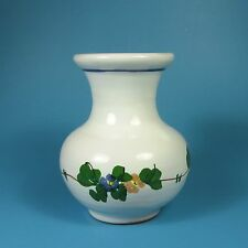 Los Reyes Small Art Pottery Flower Vase Floral