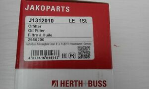 HERTH+BUSS JAKOPARTS Oil Filter FITS CITROEN, NISSAN, PEUGEOT, LEXUS, TOYOTA