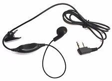 Ear Microphone with PTT Mic for ICOM IC-F3G,F3GT,F3GS,F4G,F4GT,F21,IC-V8,V82,T70