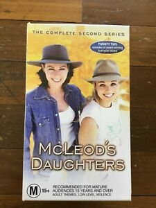 McCLEOD'S DAUGHTERS - THE COMPLETE SECOND SERIES   on VHS TAPE - VGC