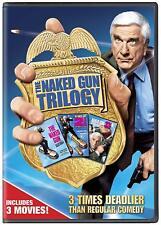 The NAKED GUN TRILOGY DVD (2017) 3 DISC  REGION 1  LESLIE NEILSON
