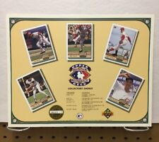 1992 Upper Deck Heroes Of Baseball collectors Shows Giveaway Lithograph
