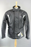 ROXTER BLACK WATERPROOF TEXTILE BIKER JACKET + CE ARMOUR/THERMAL LINING: XL-5XL
