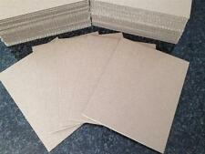 100 - 11 x 14 Corrugated Cardboard Kraft  Pads Inserts Sheet 32 ECT Made in USA