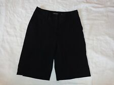 APT. 9 Maxwell Low Rise Black Bermuda Women's Casual Shorts  - Size 6