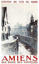 Affiche chemin de fer Nord - Amiens 2