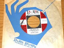 "60s 45 RPM - CATHY CARR - LAURIE 3206 - ""THE GHOST OF A BROKEN HEART"""