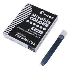 Cartucho de tinta de pluma paralelo piloto-Negro (Paquete de 6)