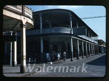 1957 red border kodachrome Photo slide colon Panama street Dog House Bar