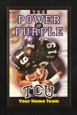 Texas Christian Horned Frogs--1999 Football Pocket Schedule--Smoothie King