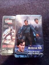NECA Cult Classics MEDIEVAL ASH Figure Army of Darkness Evil Dead New