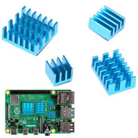 4x Aluminum Heatsink Radiator Cooler Kits for Raspberry Pi 4B JR