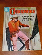 GUNSMOKE #11 (DELL 1958).  FINE- (5.5) cond. AL WILLIAMSON art  TV  PHOTO COVER
