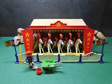 Playmobil ***Rarität*** Tierschau 3730-A/1991, Komplett-Set, 6 Pferde, ohne OVP!