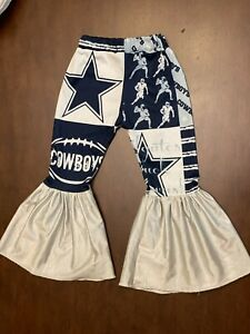 Little Southern Swag Dallas Cowboys Bell Bottoms 3T Football NFL GAMEDAY BELLS