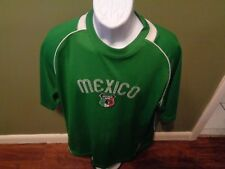 Mexico Starter National Team Soccer Jersey Mens Size Large Green