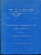 Geology, Archaeology & Fossil Mammals of the Cornelia Beds -K. Butzer -1974