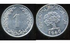 TUNISIE  1 millim  1960  SUP