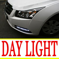 LED Day Light fog Lamp cover Assembly 2P For 08 09 10 11 Chevy Cruze
