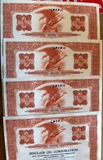 Bond Sinclair Oil Corporation. 4 bonds in sequence broker Merrill Lynch 1968