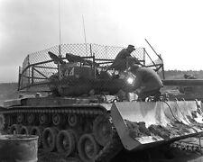 M-46 TANK DOZER OF DOG COMPANY  8X10 PHOTO KOREAN WAR